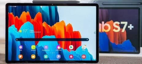 Galaxy Tab S7 e Tab S7+ começam a receber atualização da One UI 3.1 via update