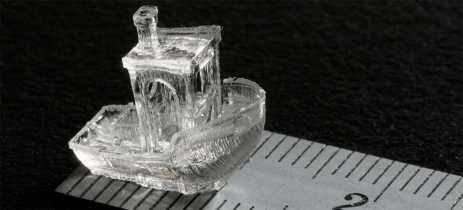 Nova técnica de impressão 3D promete criar objetos em segundos