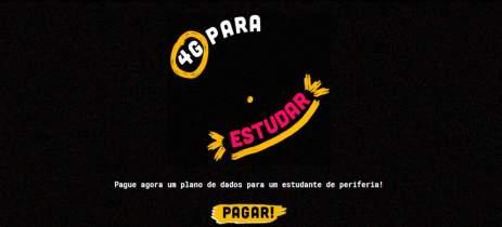 4G para estudar: projeto busca bancar dados móveis de estudantes brasileiros
