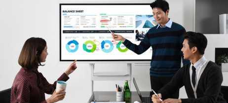 Samsung Flip é a tela interativa e conectada que quer substituir seu quadro branco