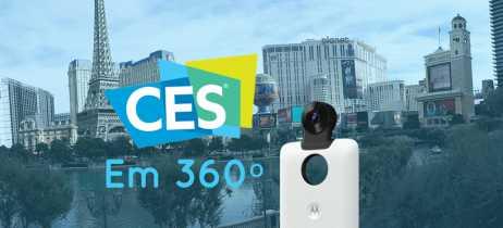 Venha passear em 360º com a gente pela CES 2018 e por Las Vegas!