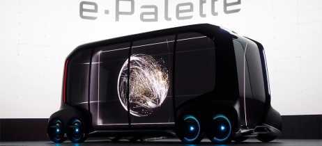 Conheça o e-Palette, conceito de carro autônomo da Toyota que é um ambiente móvel