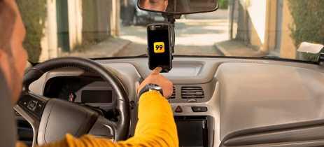 App 99 está permitindo bloquear passageiros e motoristas