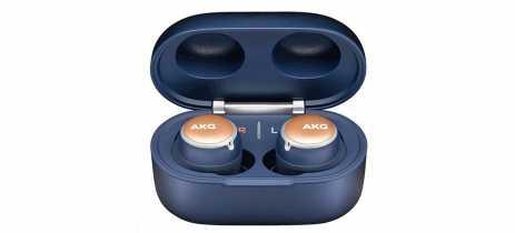 Fone AKG N400 tem noise cancellation e resistência à água que Galaxy Buds+ ignorou