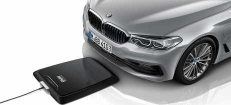 BMW lança carregador por indução destinado a carros elétricos e híbridos