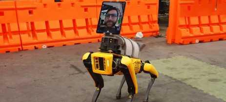 Robô da Boston Dynamics ajuda hospitais no tratamento de pacientes com COVID-19