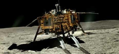 Agência espacial chinesa revela conteúdo de estudo sobre o lado oculto da Lua