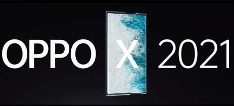 Oppo X 2021 é o primeiro smartphone  a vir com uma tela rolável