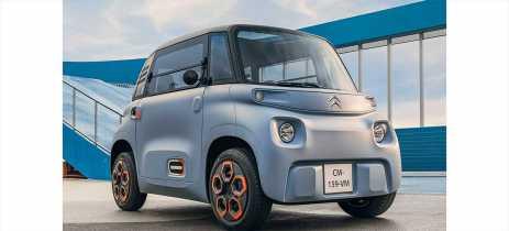 Carro elétrico Citroën Ami pode ser dirigido sem habilitação