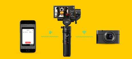 Zhiyun lança Crane-M2, estabilizador compacto para smartphones e câmeras de ação