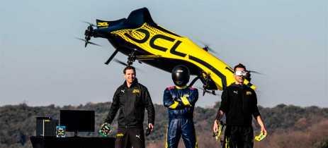 Drone tripulável de € 1 milhão? Conheça o incrível DCL que pode levar uma pessoa