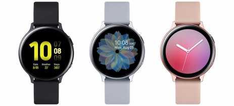Samsung apresenta oficialmente Galaxy Watch Active2 com sensor EGC