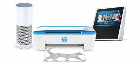 HP adiciona assistente Alexa ao sistema de comandos de voz de impressoras