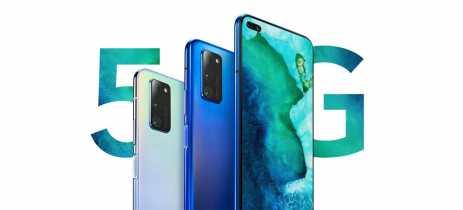 Novos smartphones Honor V30 e Honor V30 Pro chegam com suporte para 5G