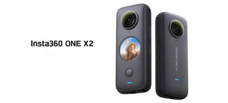 Insta360 lança câmera ONE X2 com tela sensível ao toque e bateria maior