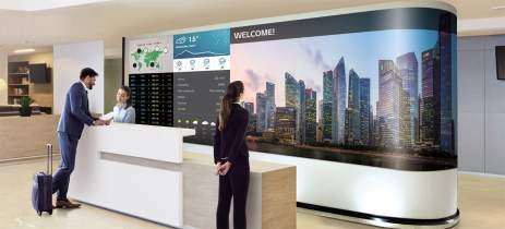 LG apresenta nova linha de painéis LED que se montam como módulos sem fio