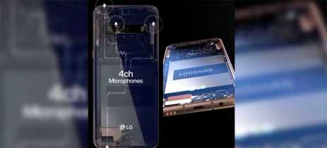 Celular LG V60 ThinQ virá com suporte a 5G e Snapdragon 865