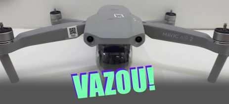 Mavic Air 2 terá câmera 4K 60 FPS, sensor de 48MP e voa até 8Km por 34 minutos!