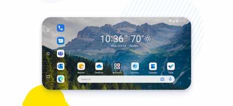Microsoft Launcher 6.0 para Android chega com nova interface