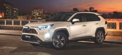 Toyota anuncia chegada da SUV RAV4 Hybrid 2020 ao Brasil