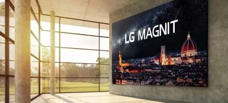 LG apresenta sua nova televisão com display de microLED 4K de 163 polegadas