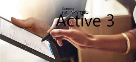 Especificações do novo Samsung Galaxy Tab Active 3 aparecem na internet
