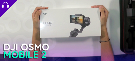 DJI Osmo Mobile 2 - Unboxing e primeiras impressões