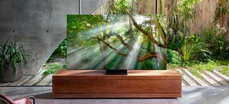 Samsung mostra sua TV 8K totalmente sem bordas e com apenas 15mm de espessura