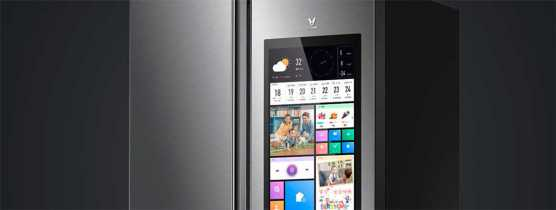 Viomi Internet Refrigerator tem monitor IPS de 21 polegadas e controle por voz