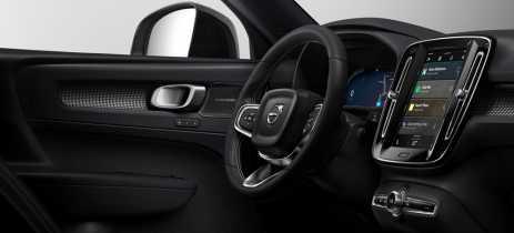 Carro elétrico da Volvo terá sistema Android integrado - não precisa de smartphone!