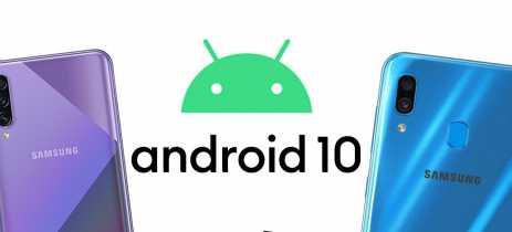 Smartphones Galaxy A30 e A50s começam a receber Android 10 com interface One UI 2.0