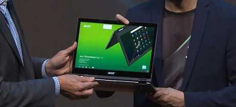 Acer mostra o Spin 13, Chromebook mais poderoso do mundo