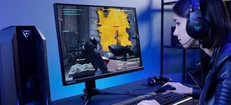 Acer anuncia monitor Predator XB3 Visioncare com taxa de 170 Hz e luz adaptável