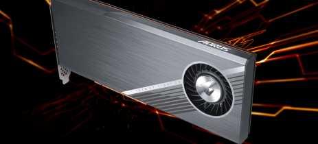 Gigabyte lança placa de expansão AORUS Gen4 AIC, com suporte para até quatro SSDs M.2