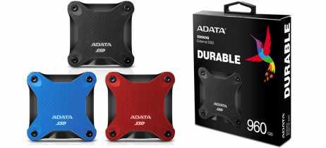 Adata lança SSD SD600Q com velocidades de até 440MB/s e proteção anti-choque
