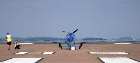 Aeronave totalmente elétrica da Rolls-Royce faz o seu voo inaugural