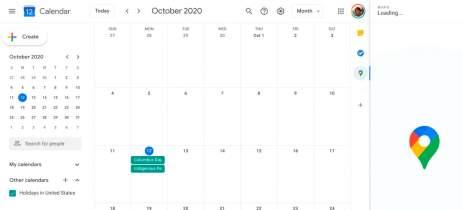 Google Agenda no desktop tem acesso fácil para Maps, Keep, Tarefas e Voice