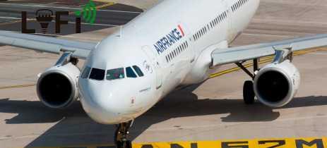 Air France faz o primeiro voo do mundo com tecnologia Li-Fi