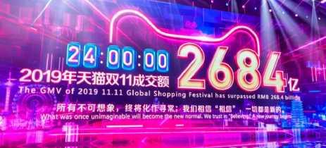 Alibaba bate recorde de US$ 38 bilhões em vendas durante