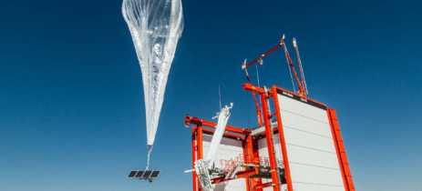 Balões de internet da Alphabet alcançam marca de 1 milhão de horas na estratosfera