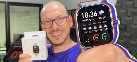 Unboxing Amazfit GTS: será que o vestível com cara de Apple Watch manda bem?