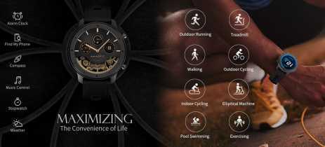 Preço da Amazfit GTR Lite cai para US$99 - Corpo cerâmico, Tela AMOLED e 24 dias de bateria