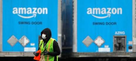 Trabalhador de armazém da Amazon morre de Covid-19 em Nova York