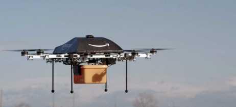 Amazon tem patente de entrega de drones
