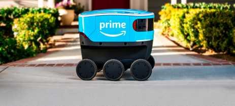 Amazon inicia os testes com Scout, véiculo autônomo de seis rodas que realiza entregas