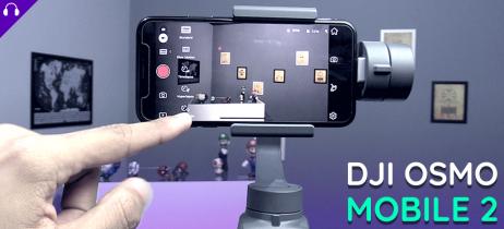 Testamos o DJI Osmo Mobile 2, confira nossas impressões em um vídeo do estabilizador para smartphones
