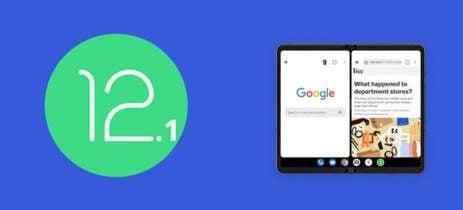Android 12.1 pode ter indicado o lançamento do smartphone dobrável da Google