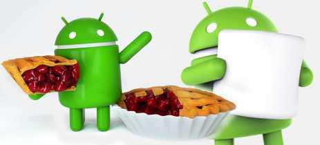 Android 6 Marshmallow ainda é o mais utilizado, enquanto Android 9 Pie está em 10.4% dos aparelhos