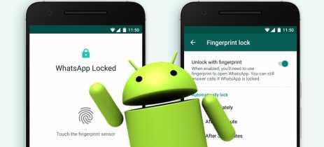 Whatsapp lança recurso de bloqueio via impressão digital para aparelhos Android