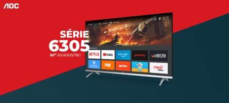 AOC lança no Brasil sua Smart TV 4K Série 6305 com Dolby Vision e Dolby Atmos